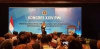 Jokowi Buka Kongres PWI, Atal dan Hendry Bersaing