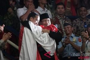 Jokowi dan Prabowo Saksikan Final Pencak Silat Asian Games 2018