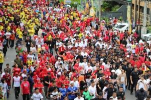 Jokowi Disambut Hangat Warga Lampung