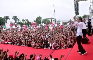 Jokowi: Jaga Semangat Sampai 17 April