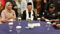 Jokowi ke Garut, Kiai Ma'ruf Temui Sejumlah Tokoh Sunda di Bandung