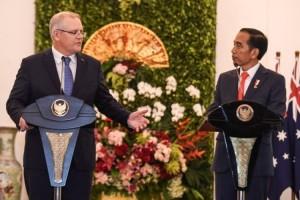 Jokowi-PM Australia Bahas Penanggulangan Terorisme
