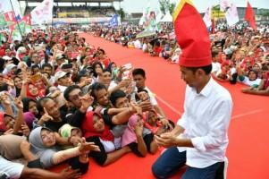 Jokowi : Saya Tegas dan Tak Pandang Bulu Berantas Korupsi