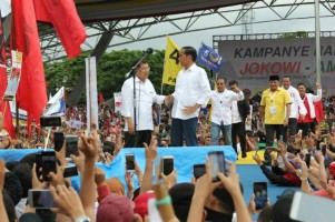 Jokowi Tegaskan SelaluSeiring Sejalan dengan JK