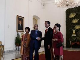 Jokowi Terima Kunjungan PM Malaysia di Istana Bogor