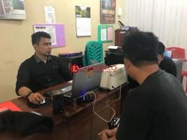 Jual Ekstasi, Pegawai Honorer Dishub Lampura Digelandang ke Kantor Polisi