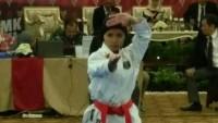 Juara Karate Provinsi Lampung Ingin Tambah Jam Terbang