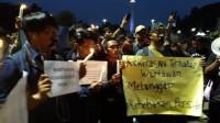 Jurnalis Korban Kekerasan Demonstrasi Lapor Polisi