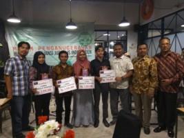 Jurnalis Lampung Post Juara Dua Menulis Tentang Sanitasi