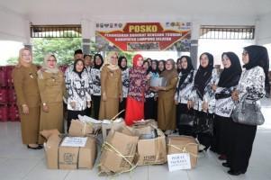 K3S Way Halim Salurkan Bantuan 300 Pasang Peralatan Memasak untuk Korban Tsunami