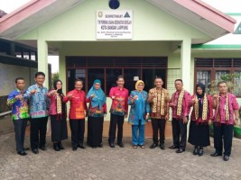 Kabupaten Bolaang Mongondow Kunjungi SD Al Kautsar Bandar Lampung