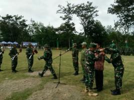 Kabupaten Way Kanan SukseskanProgram Tentara Manunggal Membangun Desa