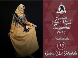 Kader IPPNU Ikuti Ajang Putri Hijab Tanggamus