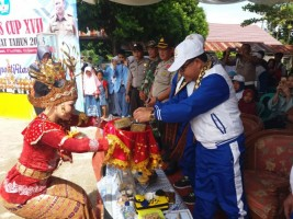 Kadisdik Buka Porseni di Lampung Barat