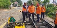 KAI Cek Rute Rel Lintasan Haji Pemanggilan - Sulusuban
