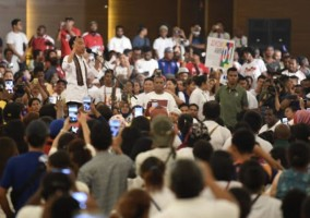 Kampanye di Papua Barat, Jokowi Janji Sambungkan Papua Barat