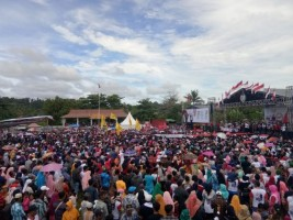 Deklarasi Pujo di Pesisir Barat Kampanyekan Jokowi-Amin