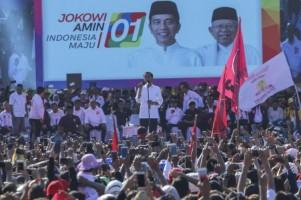 Kampanye Prabowo Diklaim Terbesar, Ma'ruf: Tunggu 13 April