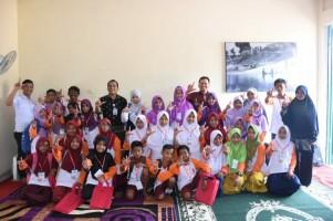 Kantor Bahasa Gelar Pembinaan Komunitas Literasi di Tulangbawang Barat