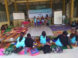 Kantor Bahasa Lampung Bina Komunitas Baca di Penengahan