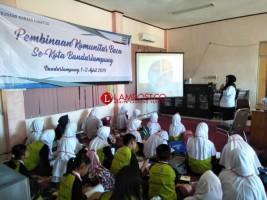 Kantor Bahasa Lampung Bina Komunitas Baca