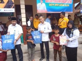 Kantor Bahasa Lampung Kembali Bantu Korban Tsunami