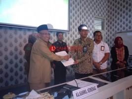Kanwil Agama Lampung Masuk 8 Kategori Keterbukaan Informasi