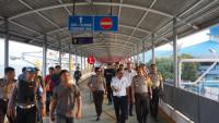Kapolda Lampung Tinjau Kesiapan Pengamanan Pelabuhan Bakauheni