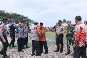 Kapolda Lampung Tinjau Situasi di Tanggamus