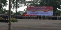 Kapolda Purwadi Pimpin Apel Pengamanan Pemilu 2019