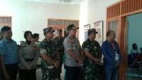 Kapolres dan Dandim 0429 LamtimPantau Rapat Pleno KPU Lamtim