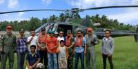 Kapolres dan Dandim Lamsel Tinjau Pengamanan Pulau Sebesi