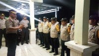 Kapolres Lambar Pimpin Apel Bhabinkamtibmas Bengkunat