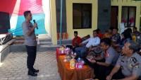 Kapolres Lampung UtaraKunjungan Kerja ke Polsek Abung Timur