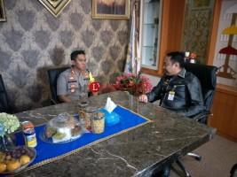 Kapolres Lampung Utara Silaturahmi ke Bupati Agung Ilmu