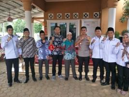 Kapolres Lampung Utara Silaturahmi ke KPU dan Bawaslu