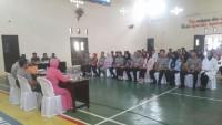 Kapolres Pimpin Sidang Nikah 6Personil Polres Lampung Utara