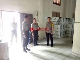 Kapolres Tanggamus Pantau Personel Pengamanan Pemilu