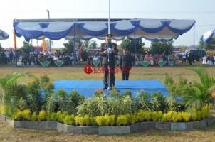 Kapolres Tuba Pimpin Upacara HUT Ke-73 Bhayangkara