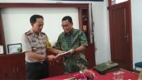 Kapolresta Bandar Lampung Sambangi Lampung Post