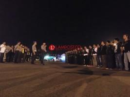 Kapolresta Pimpin 150 Personel Gabungan Operasi di Terminal Rajabasa