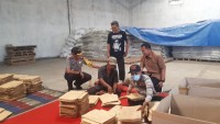 Kapolresta Tinjau Gudang Logistik KPU
