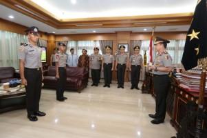 Kapolri Pimpin Upacara Kenaikan Pangkat Anggota dalam Timnas