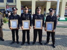 Kasatlantas Polres Pesawaran Dapat Penghargaan dari Kapolda