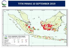 Kasus Kebakaran di Lampung Dipengaruhi Tingginya Suhu Udara