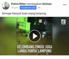 Kasus Kelvin Belum Tuntas, Posting Ujaran Kebencian Soal Tsunami Kembali Viral