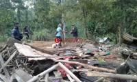 Kawanan Gajah Liar Mengamuk Tewaskan Pasutri di Semaka