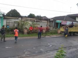 Kebakaran Mebel di Kotabumi Putuskan Jaringan Listrik
