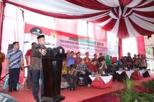 Kecamatan Way Panji Terima Anggaran Pembangunan Rp16,7 Miliar di 2019
