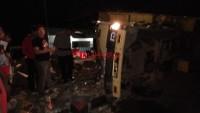 Kecelakaan Beruntun di Bakauheni Diduga Rem Blong
